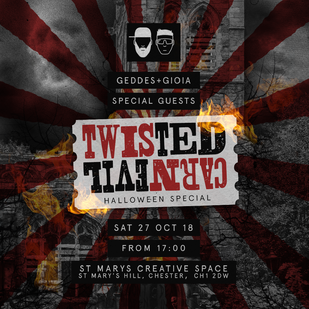 Geddes & Gioia Pesents Twisted CarnEvil