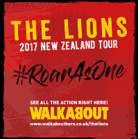 The 2017 Lions Tour to New Zealand, live at Walkabout!