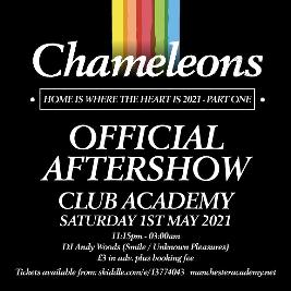 Chameleons Official After Show Party