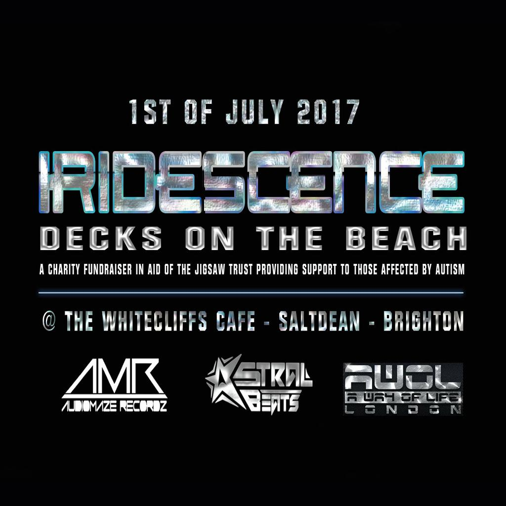 IRIDESCENCE - Decks on the beach. at The Whitecliffs Cafe