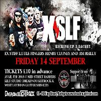XSLF - Ex Stiff Little Fingers plus support from Buzzbomb