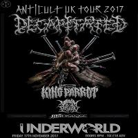 Decapitated + King Parrot, Venom Prison, Thy Disease - LDN