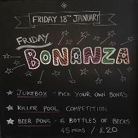 Friday Bonanza
