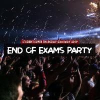 End of Exams Super Thursday Student Party