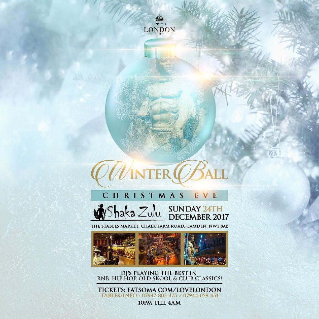 Christmas Eve Winter Ball- CJ Beatz (BBC 1xtra) & Pied Piper