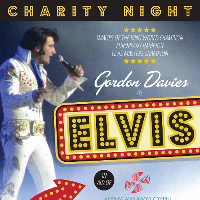 Elvis Chairty night with award winning gordon davis.