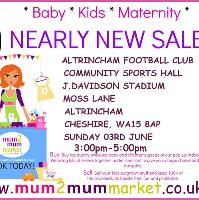 mum2mum market (Altrincham) Nearly New Sale
