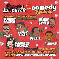 Brunch & Laughter Meets Comedy Brunch : Christmas Special Comedy