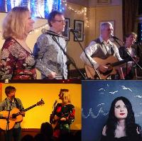 Cambridge Folk Club:No Strings Attached, The Larks, Emily Mae Wi