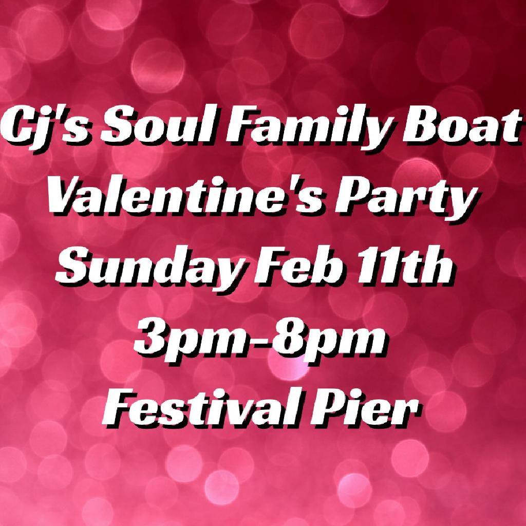 Cj's Soul Family Boat Valentine's Party