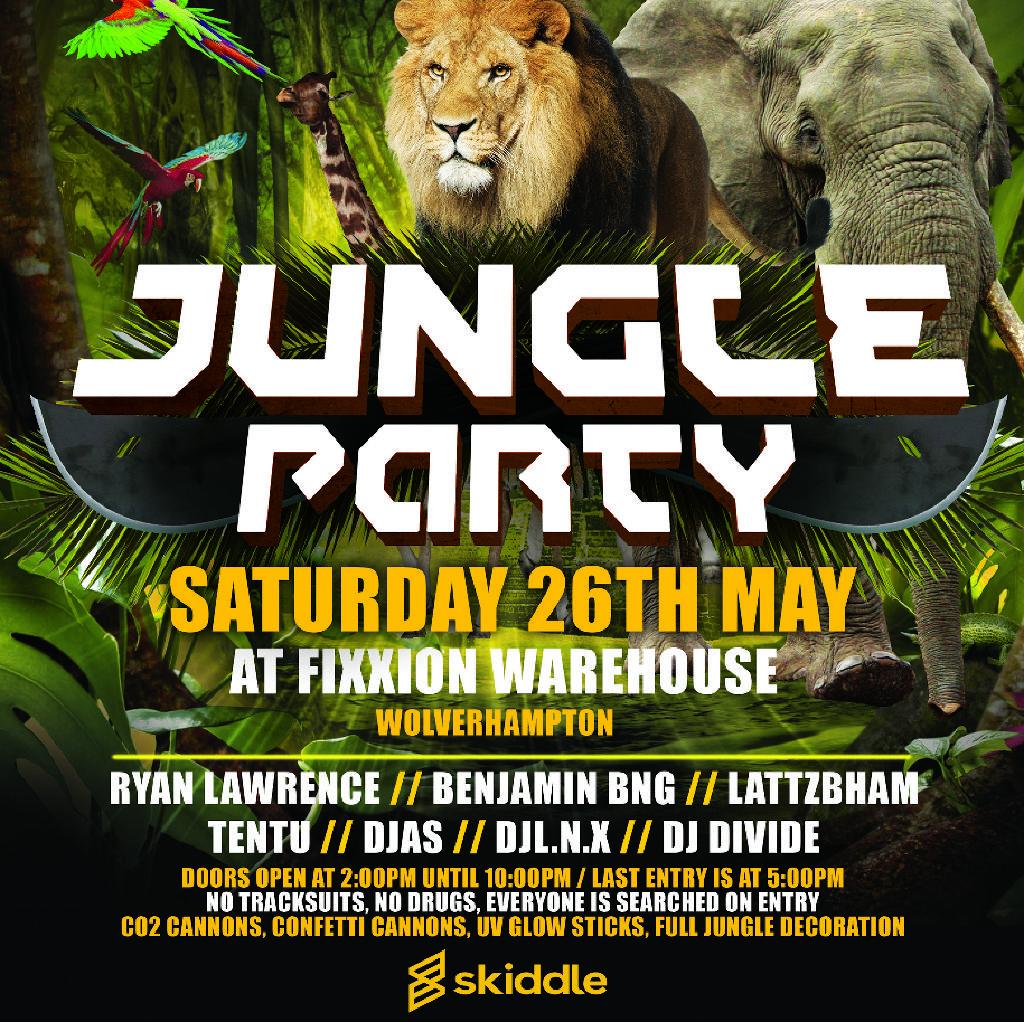 Energy Presents Jungle Rave