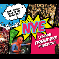 New Year's Eve London Fireworks Pub Crawl!