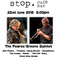 Casey Greene Quintet live at Stop Cafe Bar