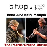 Casey Greene Quintet live at Stop Cafe Bar