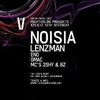 Nightvision presents Xplicit 12th Birthday with Noisia + more