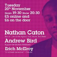 Nathan Caton Headlines Comedy at Milk