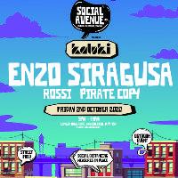 Social Avenue presents Kaluki w/ Enzo Siragusa, Rossi