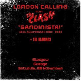 London Calling - Sandinista 40th anniversary