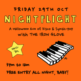 Nightflight Halloween Party: An Evening Of Synth Pop & Disco