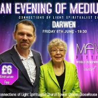 An Evening with world renowned Mavis Pittilla & Paul Humphries