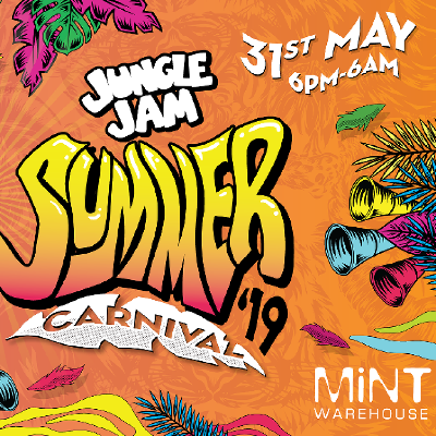 Jungle Jam Summer Carnival - Calibre & DRS / Mungos Hifi / S.P.Y