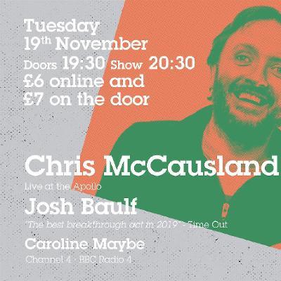Chris McCausland Headlines Comedy at Milk