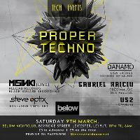 Proper Techno With Residents