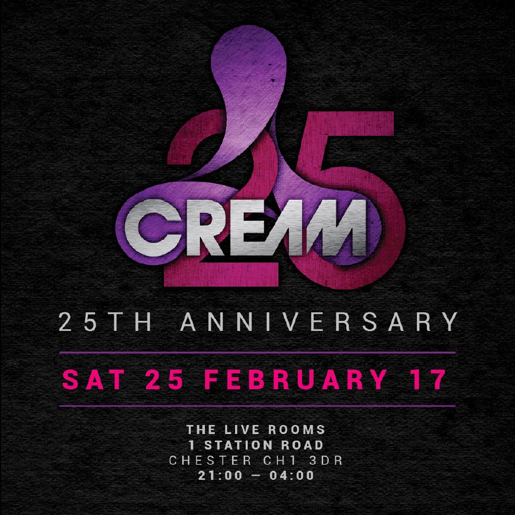 Cream Live Rooms Chester