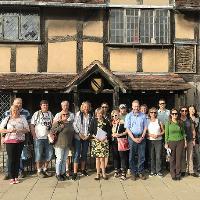 Tuesday walking tour in Shakespeare's Stratford