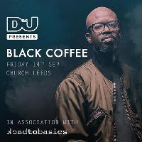 DJ Mag & Back To Basics Present Black Coffee