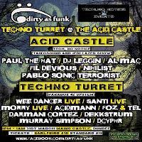 Techno Turret at Acid Castle