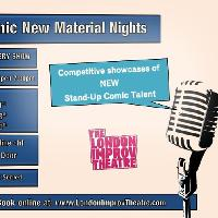 New Comedians, New Material Night