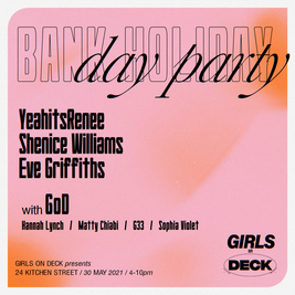 Girls on Deck: Bank Holiday Day Party