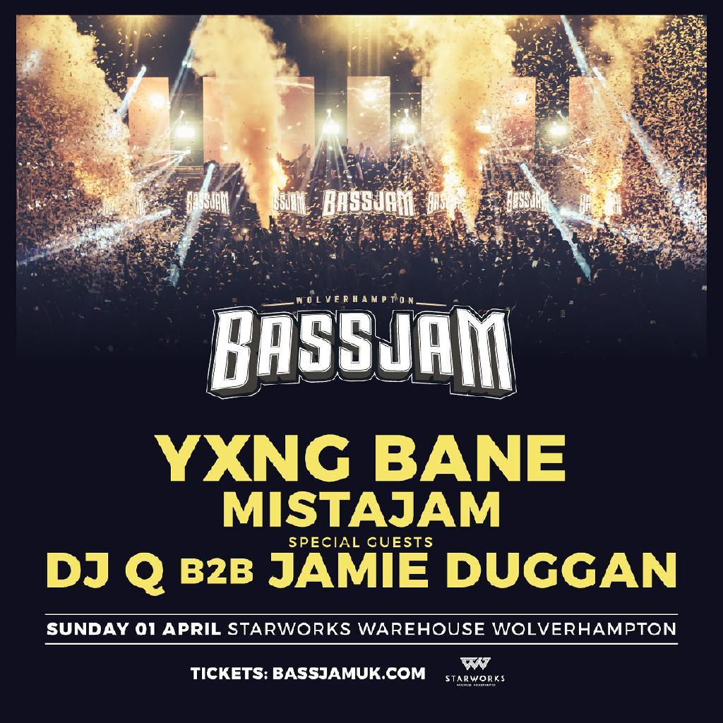 Bass Jam - yxng bane, mistajam, dj q b2b jamie duggan