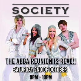 ABBA A-RIVAL @ SOCIETY