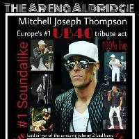 Premier UB40 tribute singer.. Mitchell Joseph  Thompson