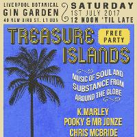 Treasure Islands Back2Back Free Party at the Gin Garden