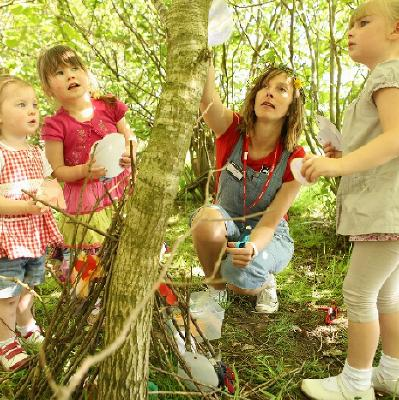 Pre-school sessions that let your little ones get in touch with nature!