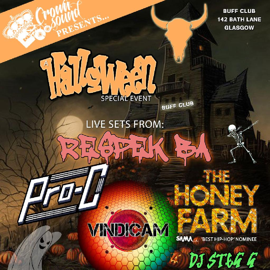 Crown Sound presents: A Halloween Special event
