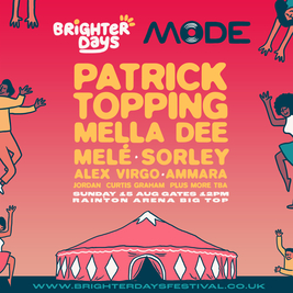 Brighter days presents Patrick Topping