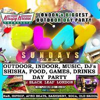 Play sundayz outdoor, indoor, music, dj, shisha, games drinks £5