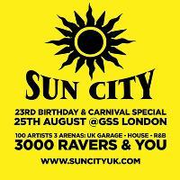 Sun City 23rd Birthday w/ DJ Luck and MC Neat, Heartless Crew