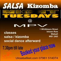 Salsa & Kizomba Night In Walsall