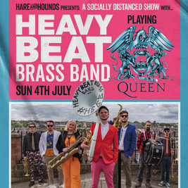 Heavy Beat Brass Band playing Queen