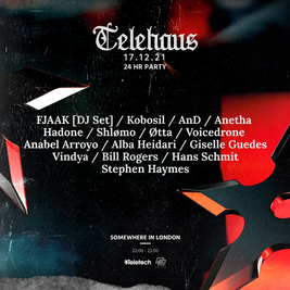 TELEHAUS - 24 hour party