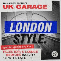Sean Harvey Presents....UK GARAGE 'London Style'