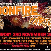 Barnsley Woolley Miners Cricket Club Bonfire Party