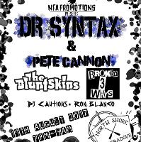 Dr Syntax and Pete Cannon