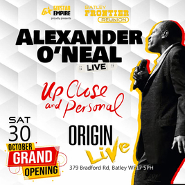 Geestar empire presents Alexander O'Neal up close & personal