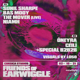 Friends of Earwiggle: Sunil Sharpe, Bas Mooy, The Mover + more